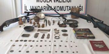 Muğlalı küçük esnaf tarihi eser kaçakçılığından gözaltına alındı