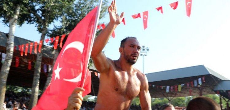 Chief Wrestler Ali Gurbuz at 658th The Kirkpinar Oil Wrestling Festival