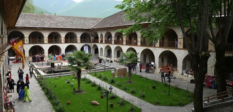 Azerbaycan'daki Şeki Han Sarayı Dünya Miras Listesi'nde