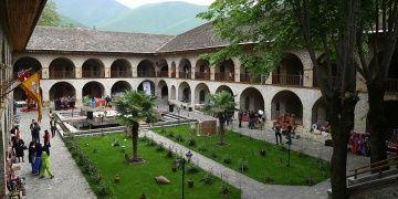 Azerbaycandaki Şeki Han Sarayı Dünya Miras Listesinde