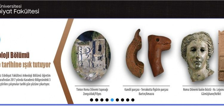 Bartın Üniversitesi Arkeoloji Bölümü