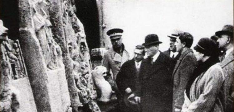 Atatürk'ün arkeoloji ile ilgili sözleri ve yazıları derlendi