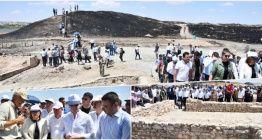 Karkamış Antik Kenti Arkeoparkı basın mensuplarına tanıtıldı