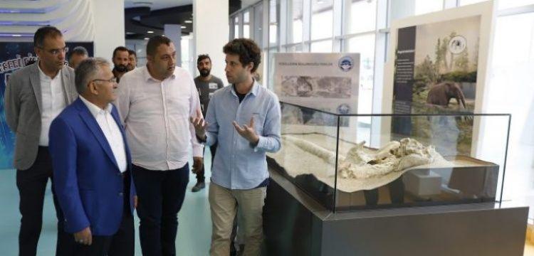 Alman ve Finlandiyalı paleontologlar 7.5 milyon yıllık Kayseri fosillerini inceledi