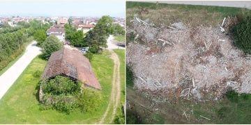 Anıtlar Kurulunun tescillediği bina kim yıktıya gitti