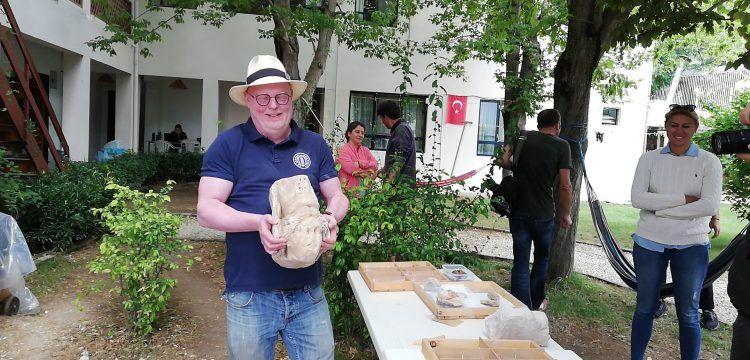 Sagalassos antik kentinde 2 bin yıllık mermer Tykhe başı bulundu