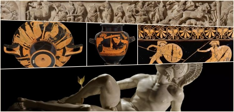 Troy: Myth and reality exhibition at the British Museum