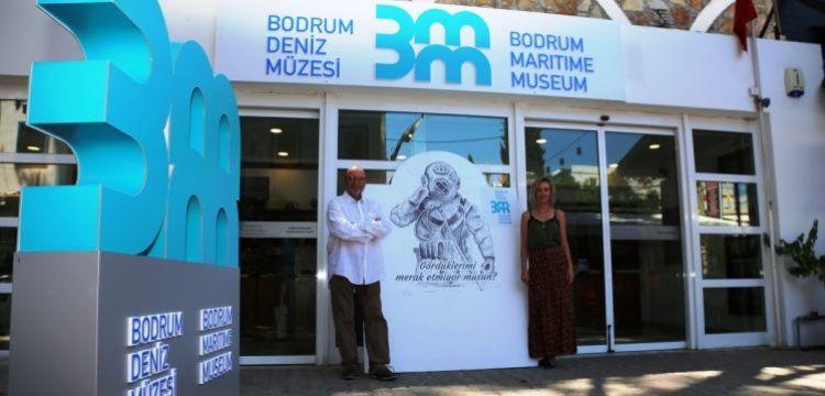 Bodrum Deniz Müzesi'nin logosu yenilendi