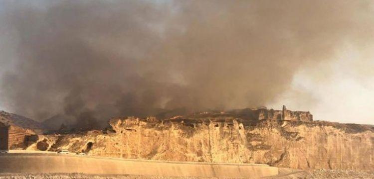 Hasankeyf yangınında yanlış bilgilendirme iddiası