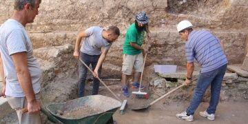 Balatlar Yapı Topluluğunda yeni bir kilise kalıntısı bulundu