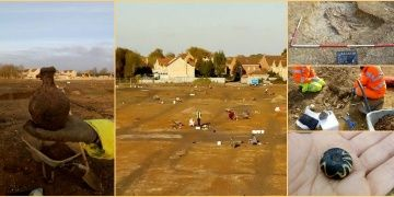 late Iron Age settlement unearthed in Cambridgeshire