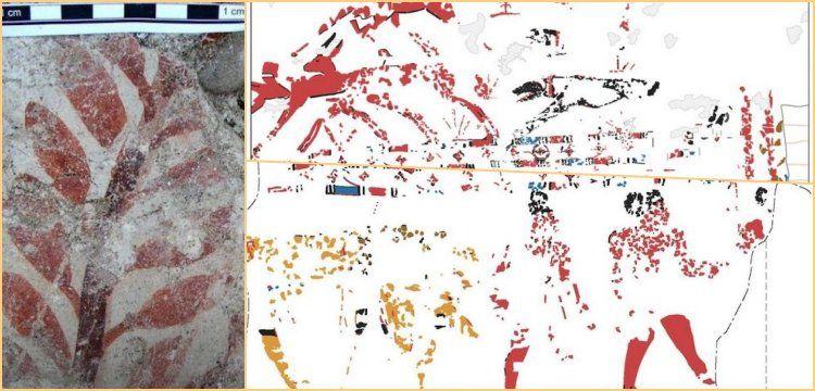 Fresk tablolarının Akdeniz bölgesindeki bilinen en eski örnekleri keşfedildi