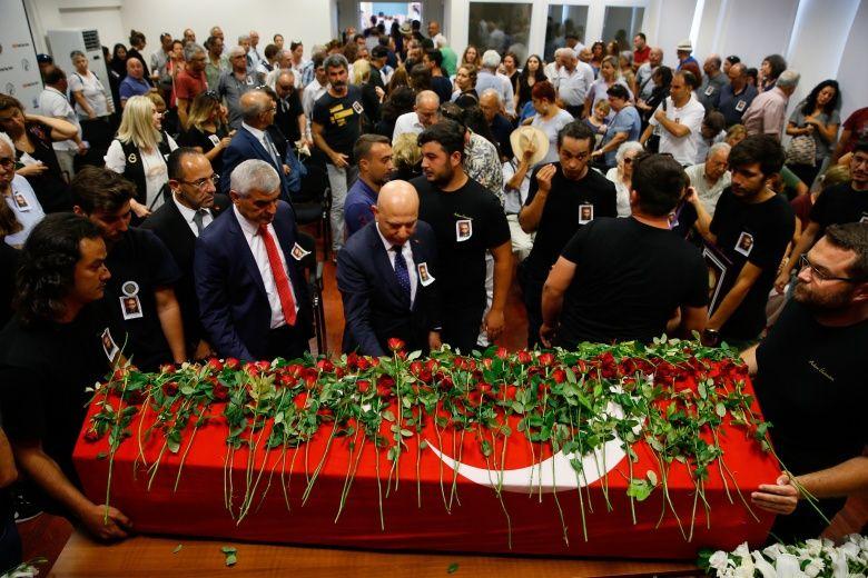 Prof. Dr. Hayat Erkanal'ın cenaze töreni