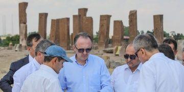 Ahlat Selçuklu Meydan Mezarlığı peyzaj çalışmaları 24 Ağustosta bitecek