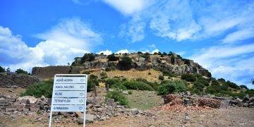 Prof. Dr. Nurettin Arslan, Assos antik kenti kazılarının 38 yılını özetledi