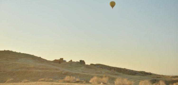 Dara Antik Kenti üzerinde ilk sıcak hava balonu havalandı