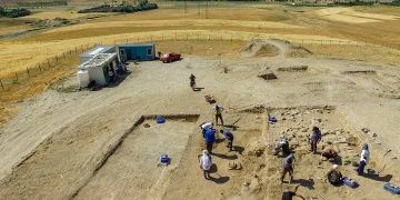 The burial ground of Urartian aristocrats was discovered in the Van province