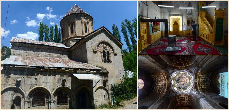 Taş Cami'ye dönüşen 11 asırlık Haholi Kilisesi restore edilecek