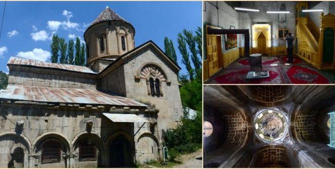 Tortumun Taş Camiye dönüşen Meryem Ana Kilisesi: Haholi Kilisesi