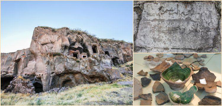 Ceramic pottery from Karaz Culture found in Ahlat