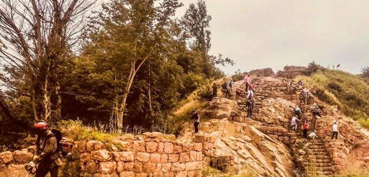 Kurul Kalesi'nde 2019 arkeoloji kazıları başladı