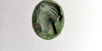 Pataraya adı verilen Mısır Kraliçesinin resmi olan yüzük mühür bulundu