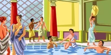 Senkronize Yüzmenin tarihi Antik Romaya uzanıyor