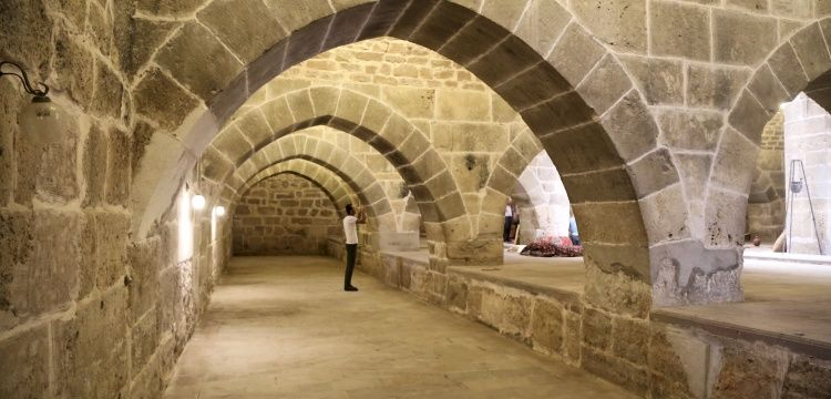 800 years old caravansary opens doors to tourism