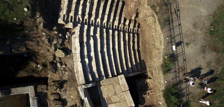Prusias ad Hypium tiyatrosunun sağlamlığı arkeologları şaşırtıyor