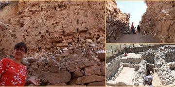 Zeyve Höyükte 8 metre orijinal Hitit kerpici ve Roma evleri bulundu