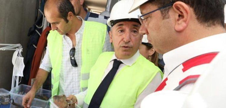 Beşiktaş metro istasyonu aynı zamanda müze olacak
