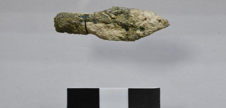 Scythian type arrowheads found in Mount Zion excavation