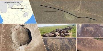 Dünyanın en büyük meteor kraterinde 8 bin yıllık çizimler bulundu
