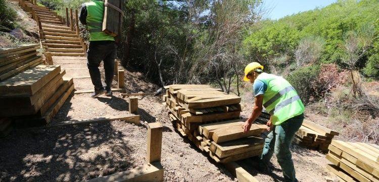 Gelibolu Yarımadası Tarihi Alanı'nda özel yürüyüş yolları inşa ediliyor