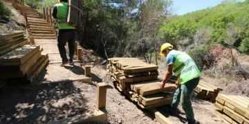 Gelibolu Yarımadası Tarihi Alanında özel yürüyüş yolları inşa ediliyor