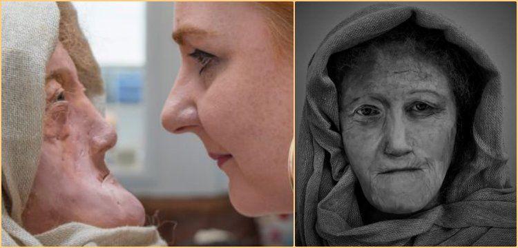 Yaşlı Druid kahininin yüzü iki bin yıl sonra böyle canlandırıldı