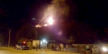 Xanthos Antik Kentindeki yangında alevler güçlükle söndürüldü