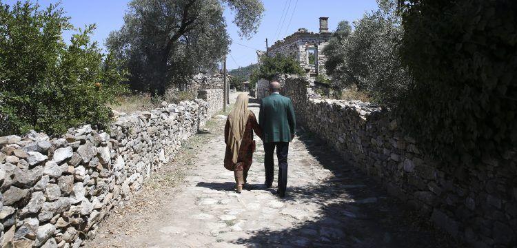 Cumhurbaşkanı Erdoğan Stratonikeia Antik Kenti'ni gezdi