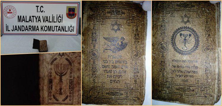 Bir İbranice el yazması da Darende'de yakalandı