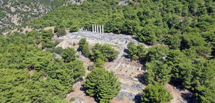 Priene Antik Kenti'nde arkeologlar Zeus Tapınağı bulmayı umuyor