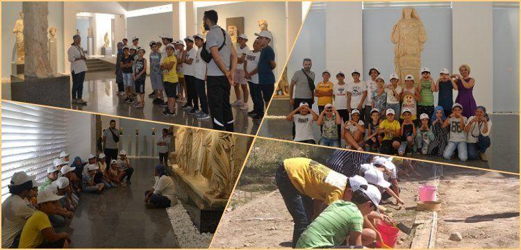 Afrodisias Arkeoloji Atölyesi her yıl  700 öğrenciye eğitim veriyor