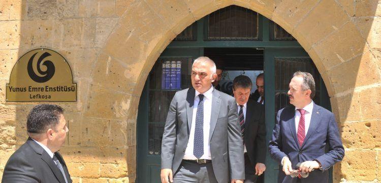 Bakan Mehmet Nuri Ersoy: KKTC'ye TİKA ofisi açmaya karar verdik