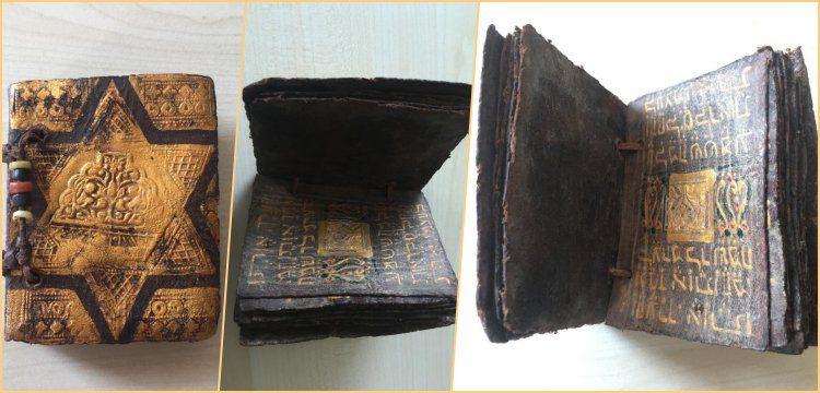Çorlu'da tarihi eser olduğu sanılan İbranice Tevrat tefsiri yakalandı