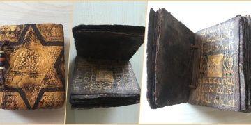 Çorluda tarihi eser olduğu sanılan İbranice Tevrat tefsiri yakalandı