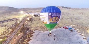 Göbeklitepede balon uçuşları için ilk deneme yapıldı