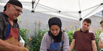 Çömlek ustası Salim Yaşara çırak olma şansı Bilecik müzesine