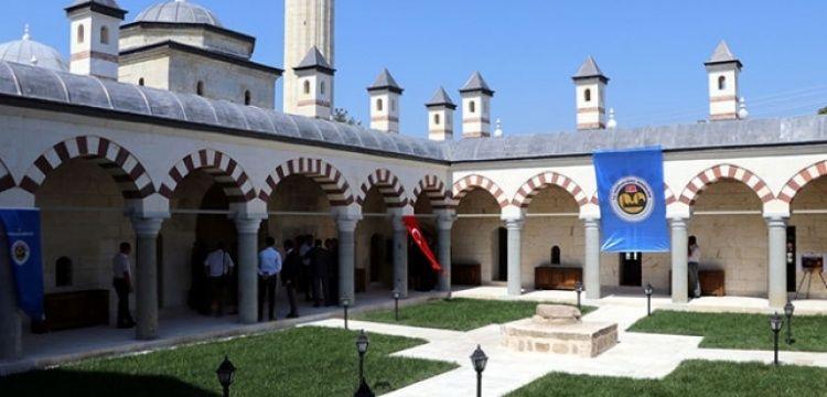 Edirne'deki Saatli Medrese'nin restorasyonu tamamlandı