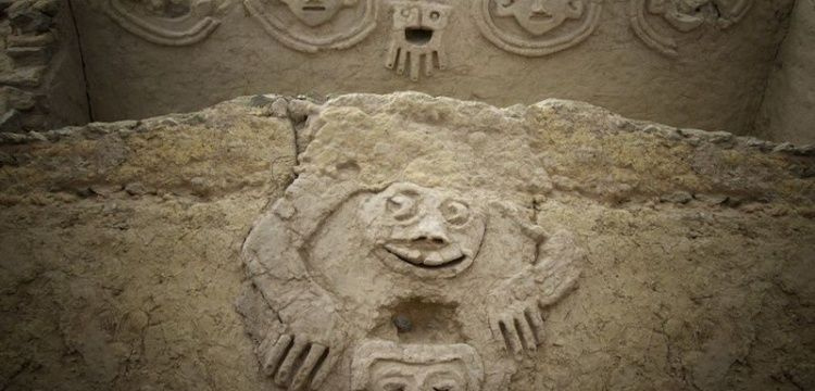 Peru'da Caral Kültürüne ait duvar resmi bulundu
