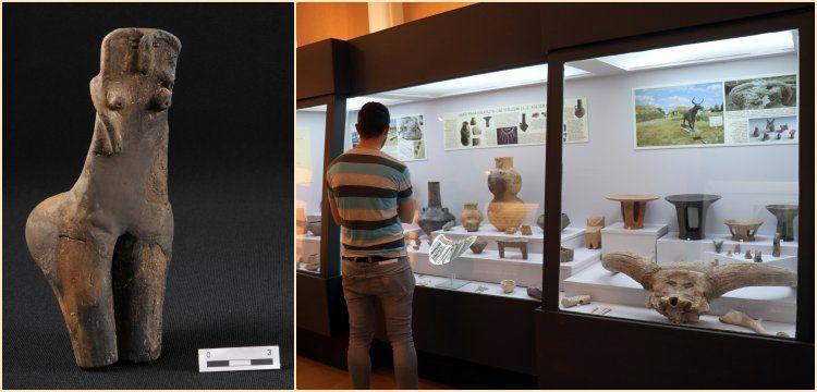 Kırklareli Müzesi'ndeki sıradışı Ana Tanrıça yoğun ilgi görüyor