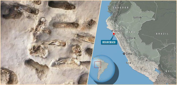 Peru'da dev bir kurban edilmiş çocuklar mezarlığı daha bulundu